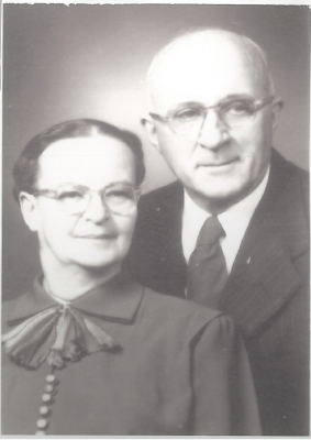 Nora and Pastor Byron M. Flory 1935-1939 Manassas and Oakton