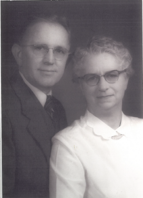 Pastor Marvin E and Orpha Clingenpeel 1946-1954