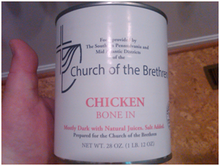 Can of Chicken