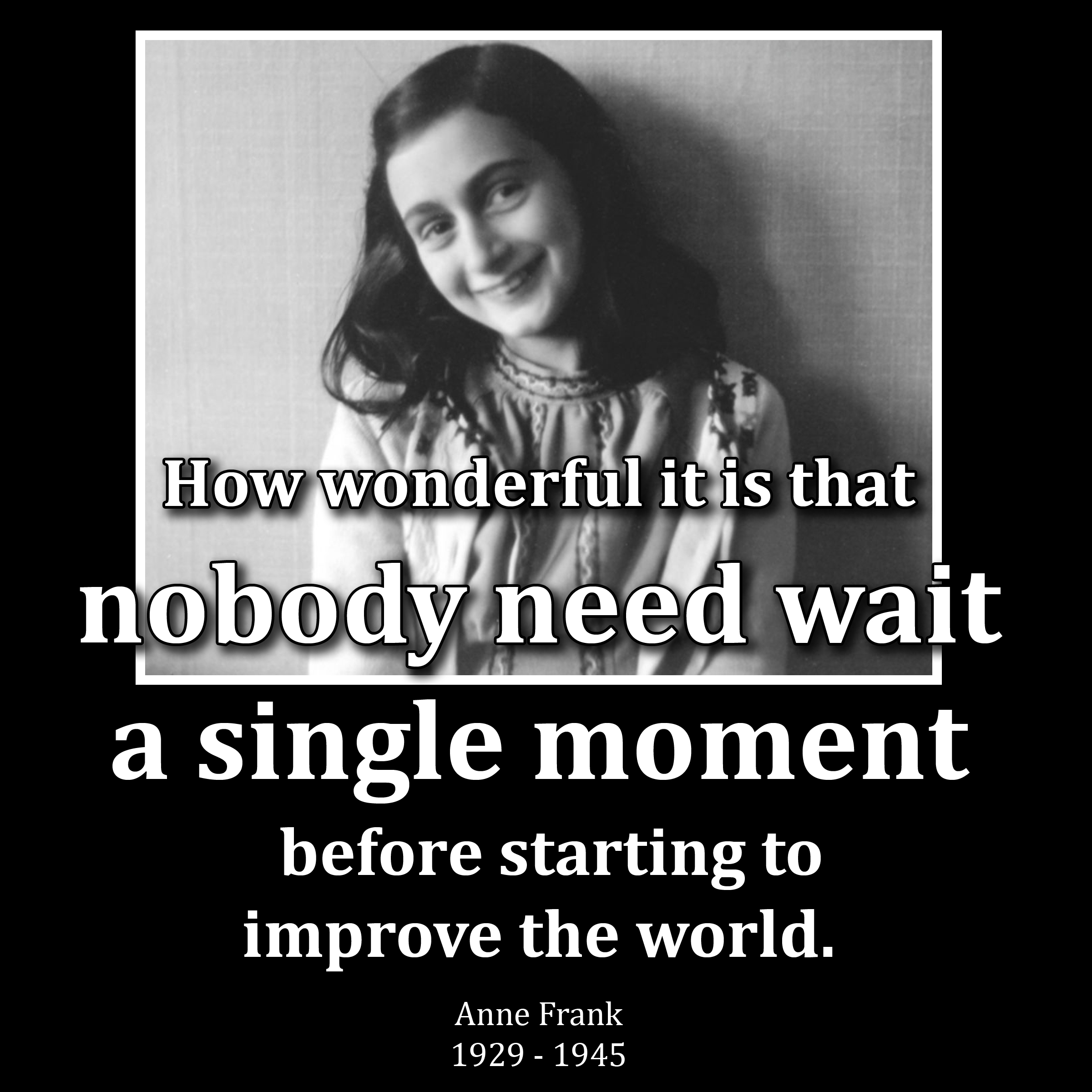Anne Frank meme anne frank, 1929 1945 oakton church of the brethren
